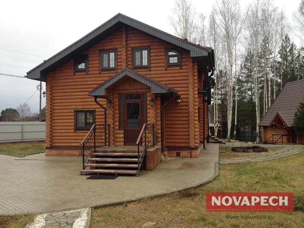ГринСруб - Срубы домов недорого под ключ - Если сруб в Краснодаре ... | 750x1000